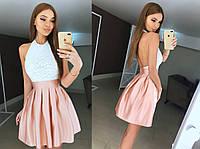 Платье с открытой спинкой  2016