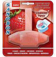 Средство Sano для мытья унитазов Клубника  500г (7290003490349)