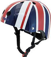Шлем детский Kiddi Moto британский флаг, размер  M 53-58см (HEL-37-72)