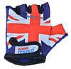 Перчатки детские Kiddi Moto британский флаг,  размер М на возраст 4-7 лет (CLO-36-85)