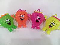 Резиновая светящиеся игрушка йо-йо клубничка