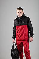 Мужской анорак Nike President черный/красный