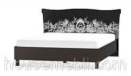 Ева NEW кровать 160 (Мебель-Сервис) венге