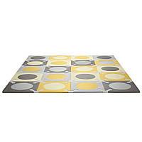 Игровой коврик-пазл Skip Hop Playspot Grey/Gold (245011)
