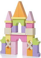 Деревянный конструктор Замок Cubika (11346)