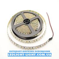 """Светодиодная лента """"LC"""" 12 V 120 диодов/метр 9.6W белый холодный, без силикона"""