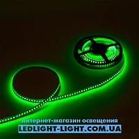 "Светодиодная лента ""LC"" 12 V 120 диодов/метр 9.6W зеленый, без силикона"