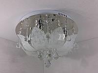 Люстра потолочная с цветной LED подсветкой и автоматическим отключением YR-5314/400