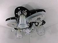 """Люстра потолочная """"Космос"""" с цветной LED подсветкой и автоматическим отключением YR-5520/3+1"""