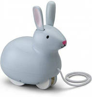 Каталка на веревке Kido Прыгающий Кролик  KID O