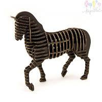Конструктор Kawada D-torso конь черный