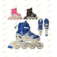 Ролики детские раздвижные 12100 Profi Roller М (35-38)