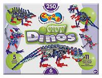 Динамический конструктор ZOOB Glow Dino 250 элементов  (14004)