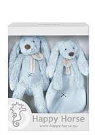 Подарочный набор Happy Horse Крольчонок Риччи,  цвет голубой