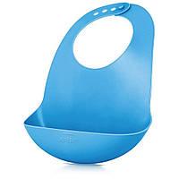 Слюнявчик для кормления Philips Avent синий (SCF736/00)