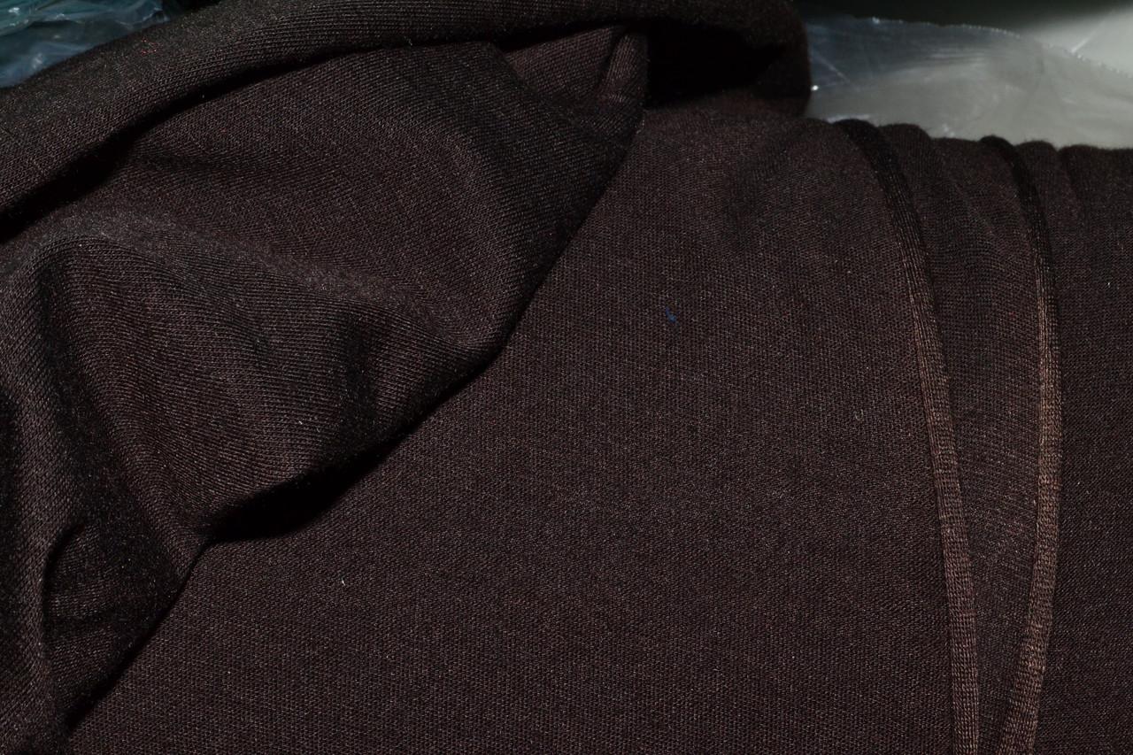 Трикотаж вискоза коричневая