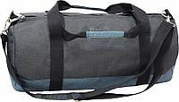 Спортивно - дорожная сумка, новая коллекция (Черно - серый)