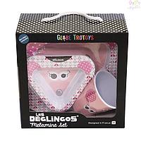 Меламиновый набор посуды Deglingos Мышка, 3  од.
