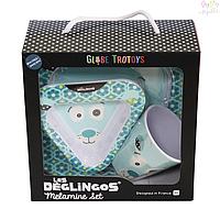 Меламиновый набор посуды Deglingos Полярный  медведь, 3 од.