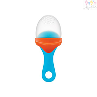 Силиконовый ниблер Pulp - Orange/Blue