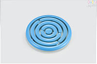 Головоломка-лабиринт с шариками KID O цвет  голубой