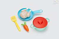 """Игровой набор посуды """"Обед"""" 3+ KID O 6 предметов"""