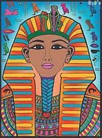 Раскраска с фломастерами Colorvelvet Carioca Египетский  фараон