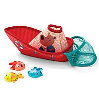 Игрушка для ванной Lilliputiens Рыбацкая лодка  86773