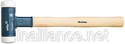 Молоток 30 х 350 без отдачи из очень твердого полиамида (Nylon®), с деревянной рукояткой из кария, Wiha 39008