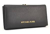 Кожаный кошелек Michael Kors 516 (black)