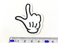 Нашивка рука палец вверх