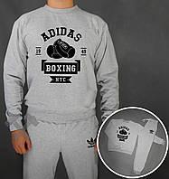 Спортивный костюм Adidas Boxing NYC серый