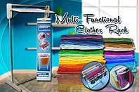 Напольная Компактная Складная Сушилка для Белья Multifunctional Clothes Rack