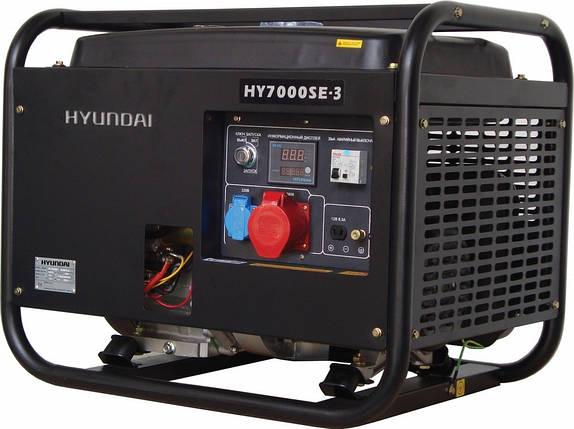 """Генератор HYUNDAI  """"HY 7000SE-3""""  мощностью 5кВТ, фото 2"""