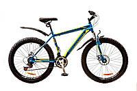 Велосипед 26'' Discovery TREK DD 2017 сине-зеленый
