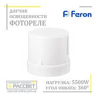 Фотоэлемент день-ночь Feron SEN27 (LXP-03) 5500W 25A датчик освещенности (фотореле) IP44