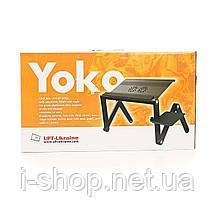 Столик для ноутбука UFT YOKO VIP black, фото 3