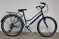 "Велосипед 26"" Discovery PRESTIGE WOMAN 2017 серо-фиолетовый"