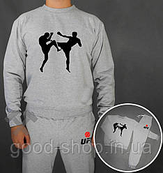 Спортивный костюм UFC серый