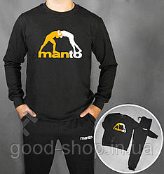 Спортивный костюм Manto черный