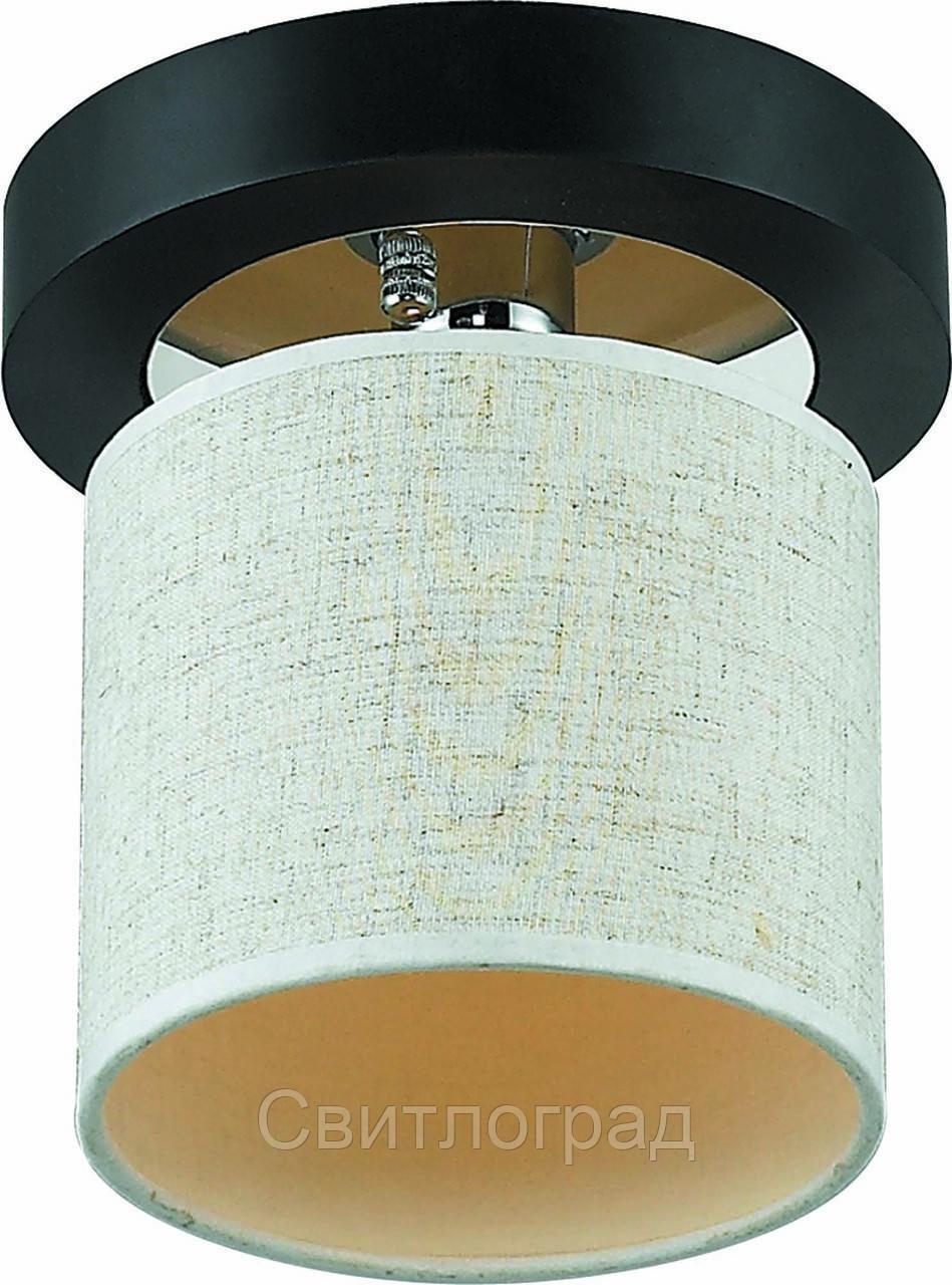 Светильник Потолочный Деревянный    Altalusse INL-3094C-01 Chrome & Wenge