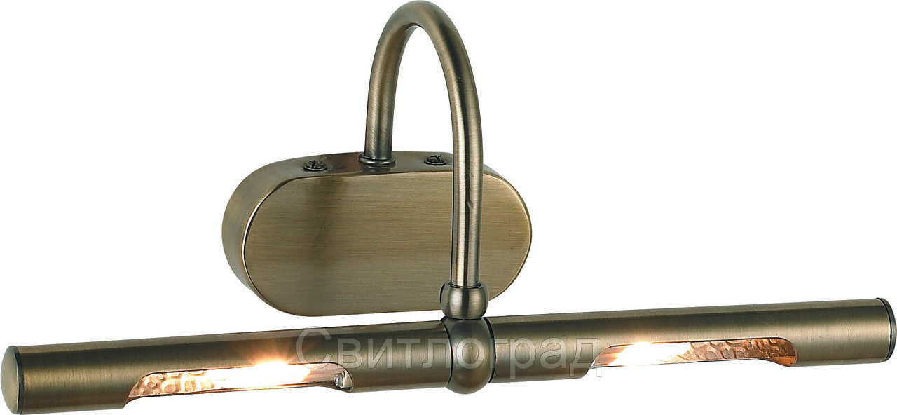 LED Бра для подсветки Картин Зеркал     Altalusse INL-9279W-06 Golden Brass