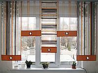 Японские панельки Оранж полоска с шоколадом, фото 1