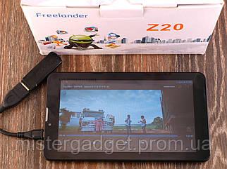 "Планшет Freelander Z20 7"" 2 ядра, 3G, IPS, BT, GPS Навігатор + Автокомплект"