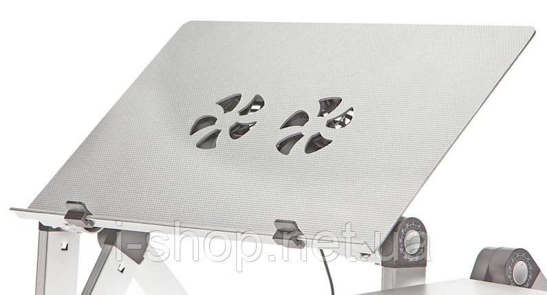 Столик трансформер для ноутбука uft sprinter t6 silver, фото 2