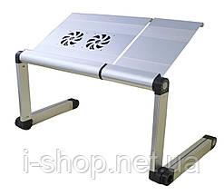 Столик трансформер для ноутбука uft sprinter t6 silver, фото 3