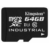 Карта памяти microSDHC, 64Gb, Class10 UHS-I, Kingston, SD адаптер (SDCIT/64GB)