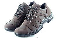 Кроссовки стильные коричневые 40-45 размеры