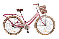 """Велосипед 28"""" Dorozhnik COMFORT FEMALE 2017 персиковый"""