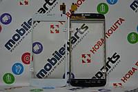 Оригинальный Сенсор (Тачскрин) для Prestigio Multiphone 3502 Duo (Белый) + Скотч!!!